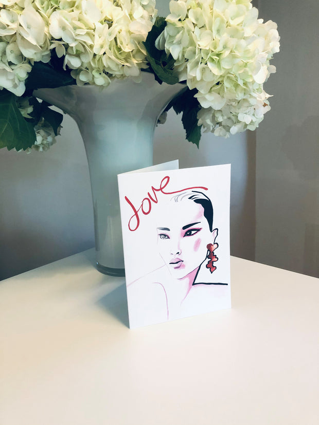 LOVE 1 Greeting Card - Jayson Brunsdon Home