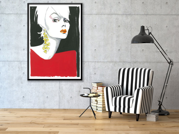 LADY IN RED - Jayson Brunsdon Home