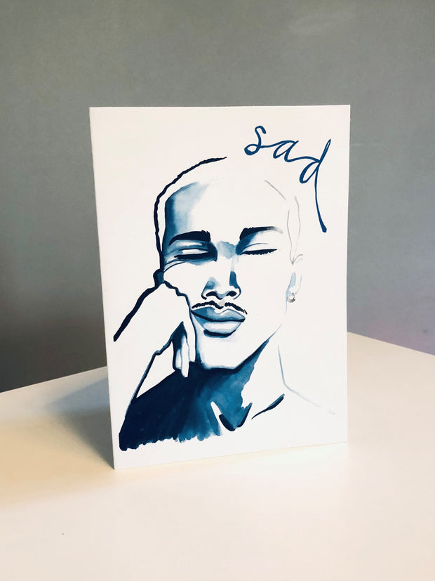 SAD 2 Greeting Card
