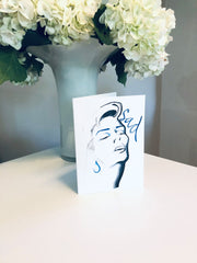 SAD 1 Greeting Card - Jayson Brunsdon Home
