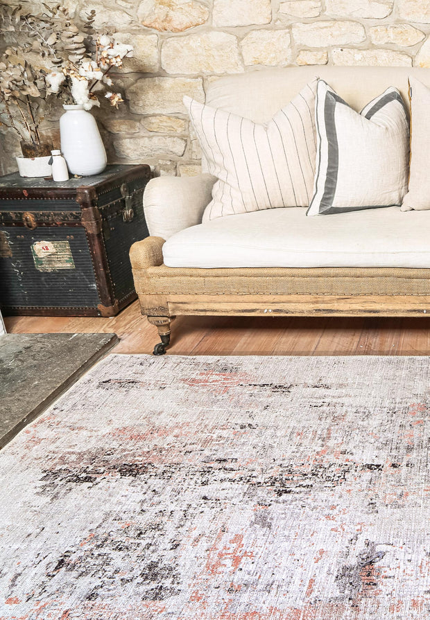 Abstract Celine Blush Rug