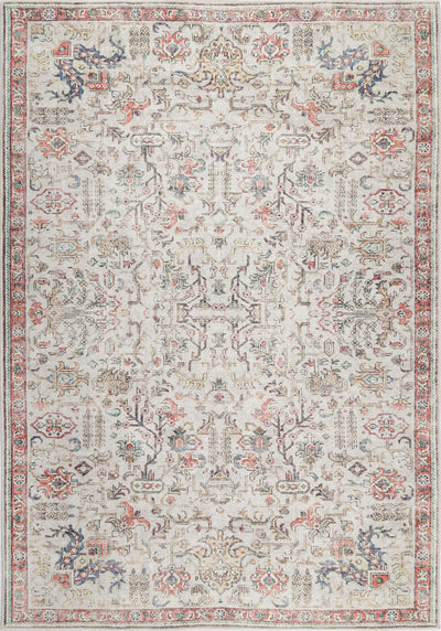 Vintage Wreath Multi Rug