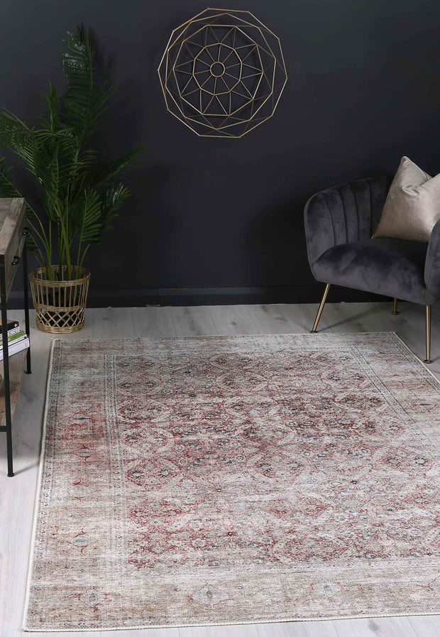 Distressed Vintage Levent Area Rug