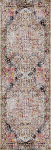 Distressed Vintage Derya Multi Area Rug