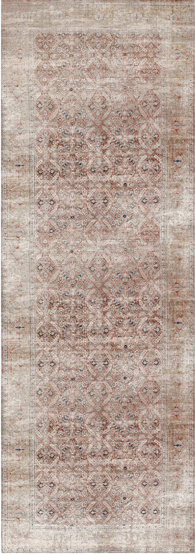 Distressed Vintage Levent Runner Rug
