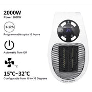 Remote Electric Handy Heater ♨️ ✨ 50% OFF NOW!!! ✨