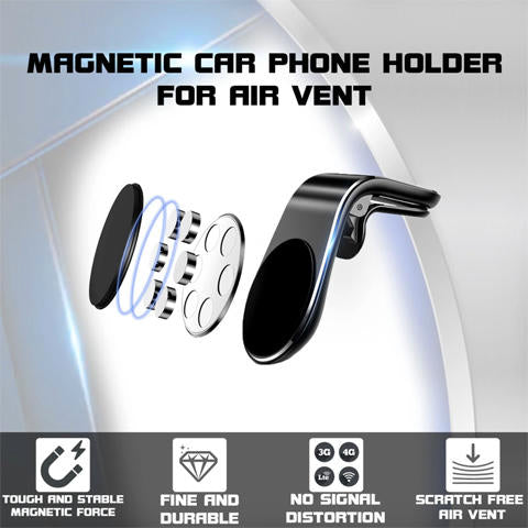 PREMIUM MAGNETIC CAR PHONE HOLDER 📱 Up to 60% OFF 📱