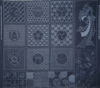 Sashiko Selection Printed Panel