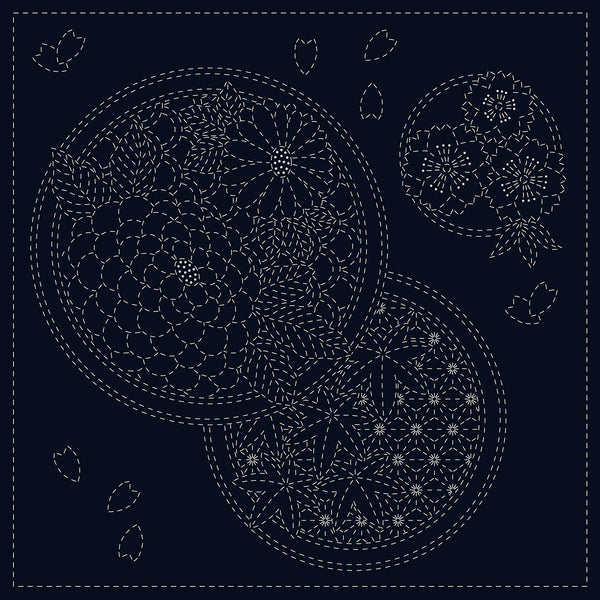 Sashiko Cloth Seasons
