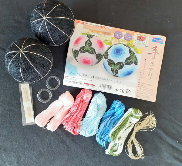 Tamari Balls Kit- Wedding Rose