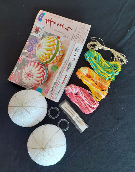Tamari Balls Kit- Full Bloomed Peach