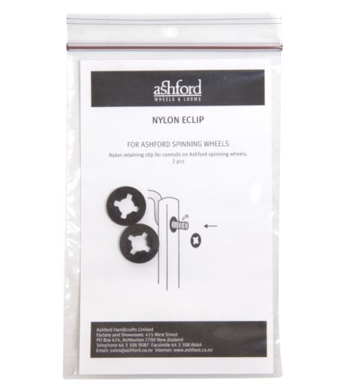 Nylon Retaining Clip - Packaged 2pc