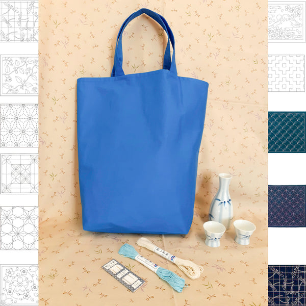 Pick & Mix Tote Bag Kit - Blue