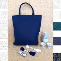 Pick & Mix Tote Bag Kit - navy