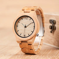 Wood Watch Men Top Brand Luxury Wooden Timepieces Great Men's Gift