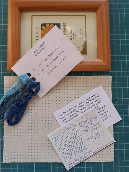 Project Pack Chain Cross Stitch