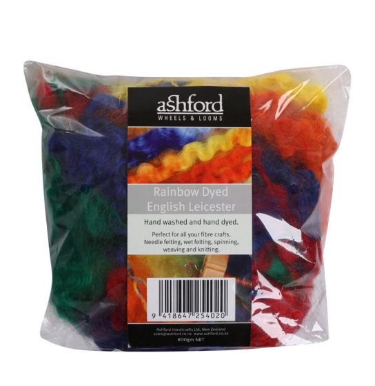 Rainbow Dyed English Leicester