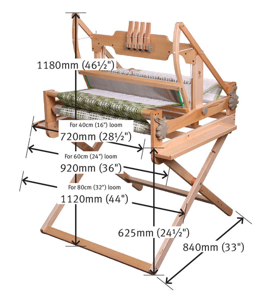 Table Loom Stands