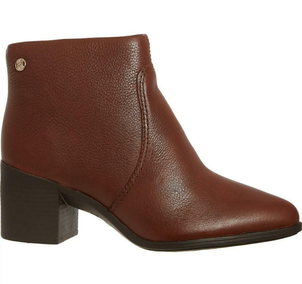 Chestnut genuine leather boots