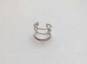 Handcrafted Sterling Silver Ear Cuff