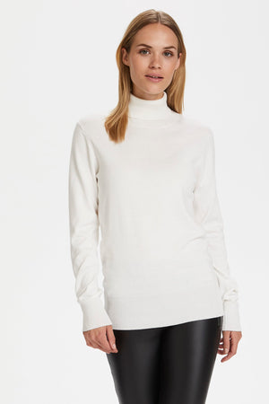 Astra chalk turtle neck