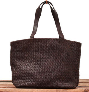 Tressage Leather bag