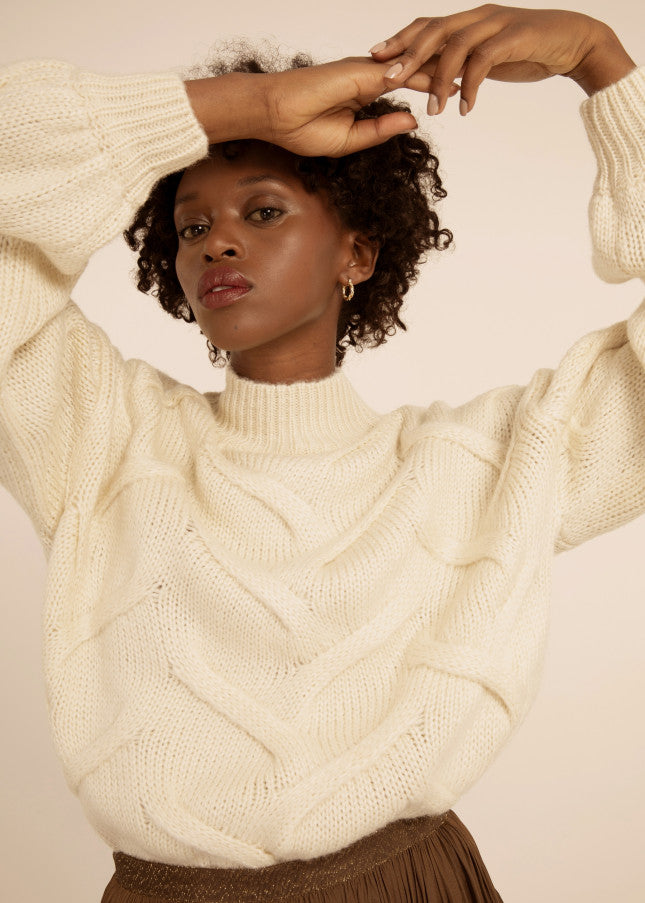 Amma chunky knitted  Jumper