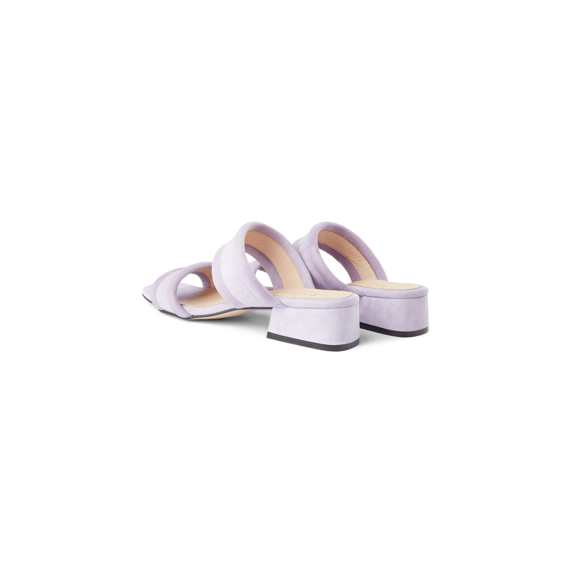 Sollo lilac Suede and leather sandals