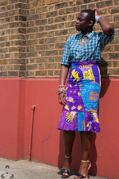 scottish African print