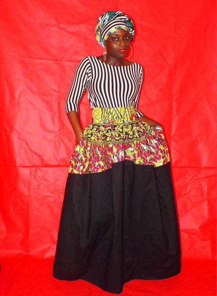 Ankara stripes