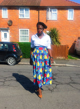 Load image into Gallery viewer, Francine Pleated Midi Skirt