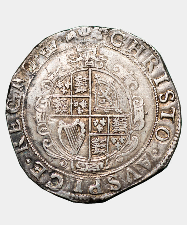 1635-6 Charles I, type 3b mm crown Halfcrown