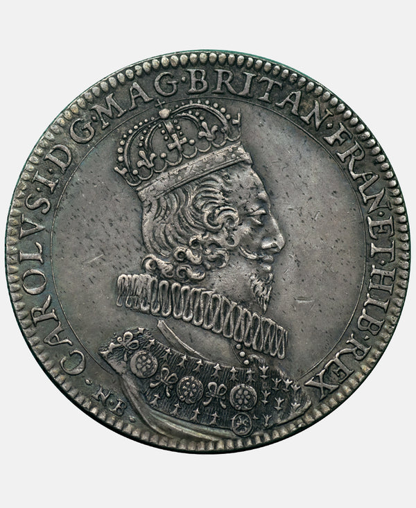 1626 Charles I coronation Medal in Siver