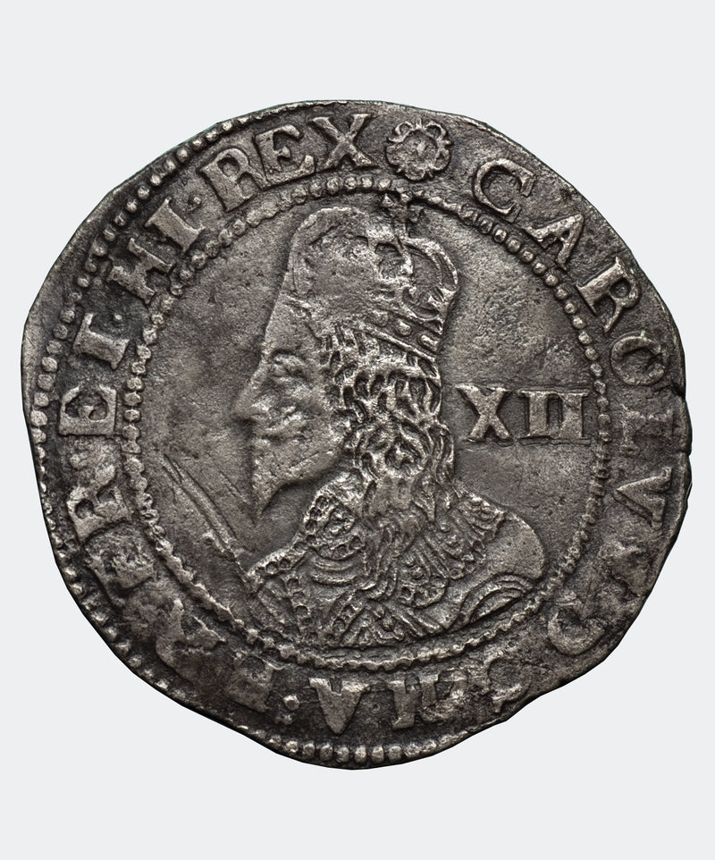 1644 Charles I Exeter Mint Shilling - Mhcoins