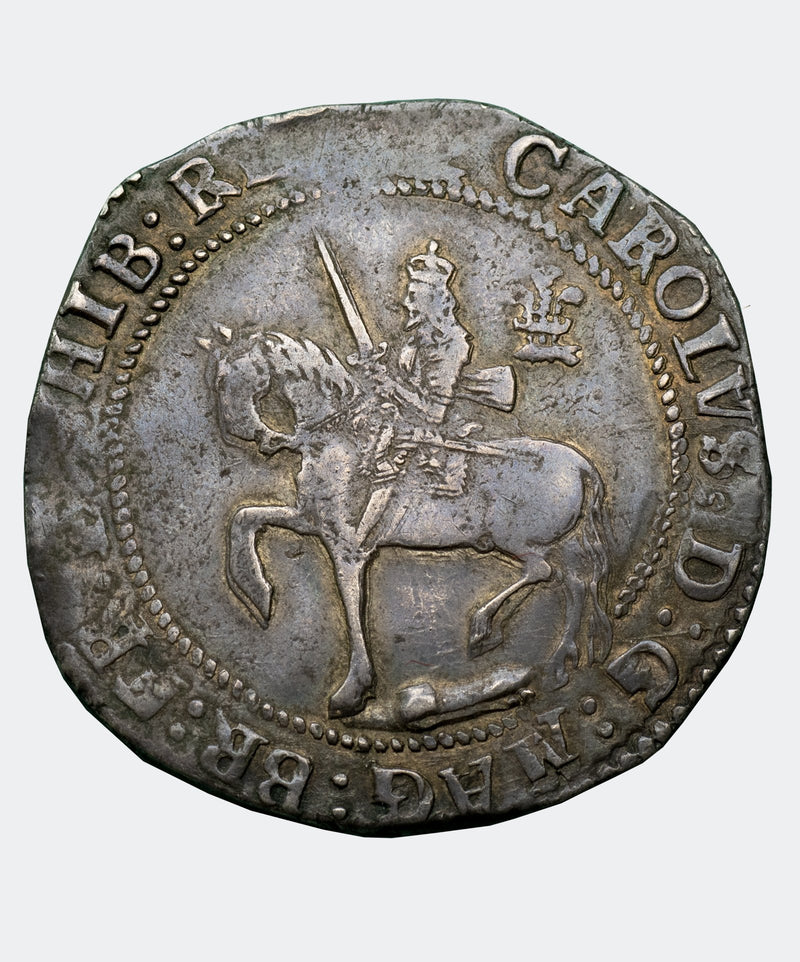 1644 Charles I Oxford Mint Halfcrown