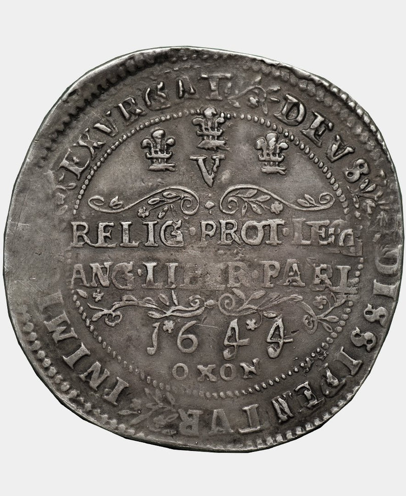 1644 Charles I British Museum Electrotype Rawlins Crown by Robert Ready - Mhcoins
