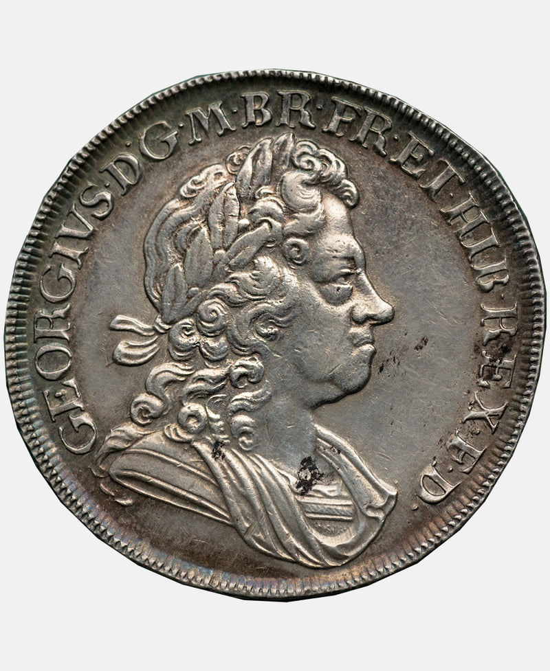 1723 George I South Sea Company Crown