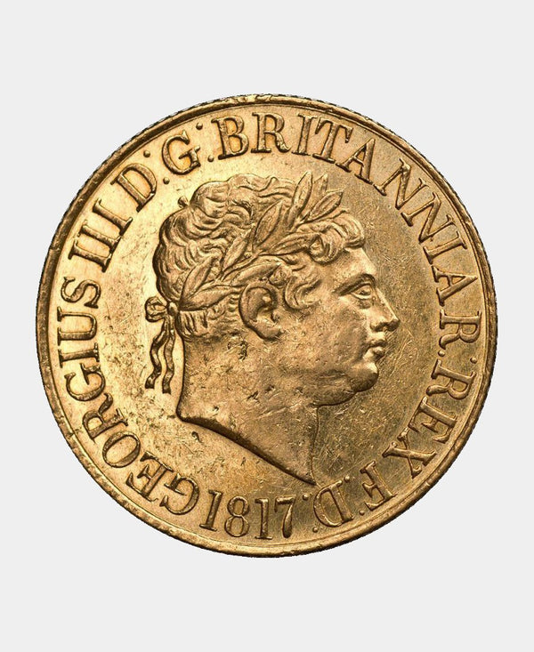1817 George III FULL SOVEREIGN