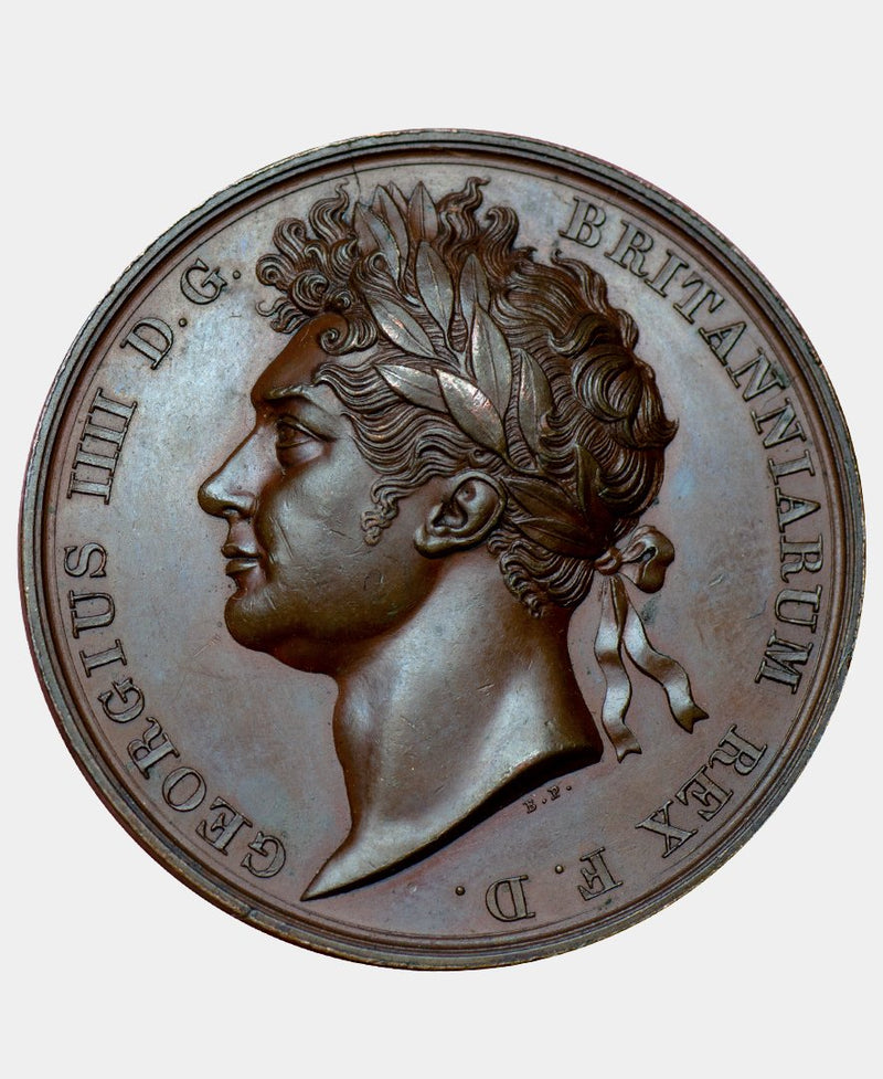 1821 GEORGE IV CORONATION MEDAL - Mhcoins