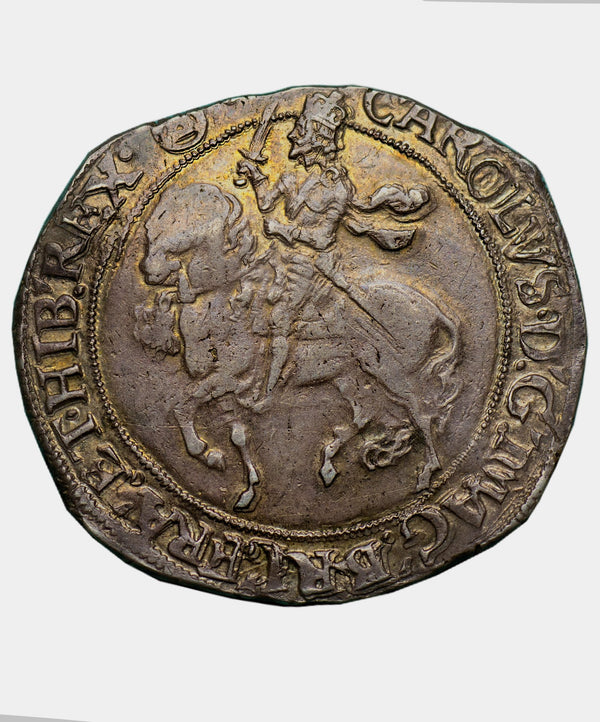 1641-3 Charles I type 4, mm triangle in circle Halfcrown