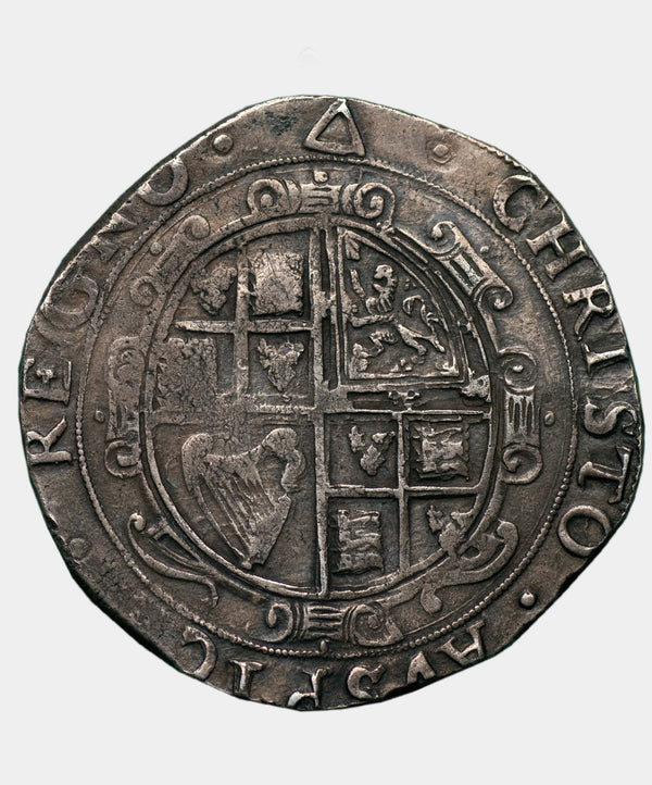 1639-40 Charles I type 3a2 mm triangle Halfcrown
