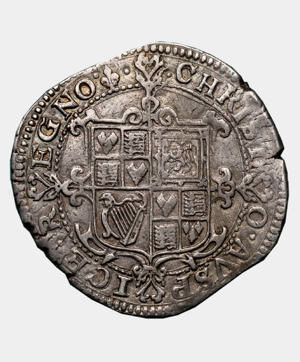 1625 Charles I Type 1a2 Mm Lis Halfcrown - Mhcoins