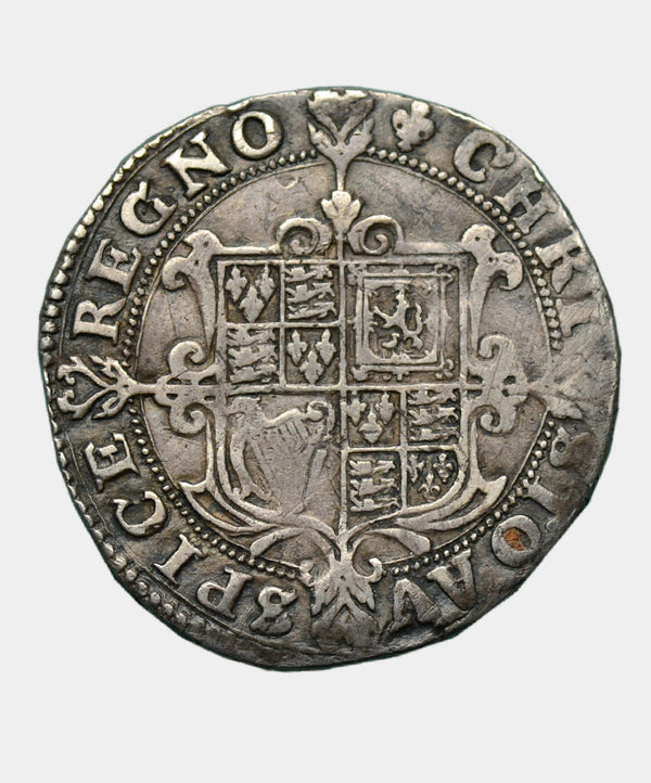 1625 Charles I, type 1a1 Mm Lis Halfcrown - Mhcoins