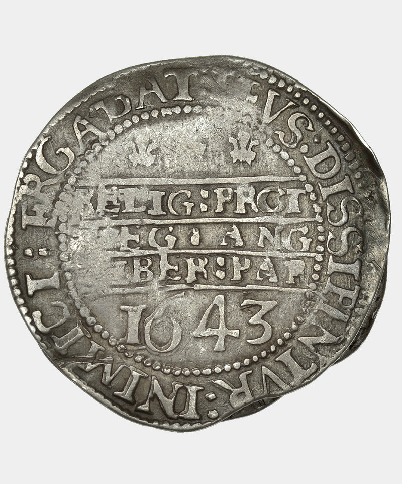 1643 Charles I Oxford Mint Shilling - Mhcoins