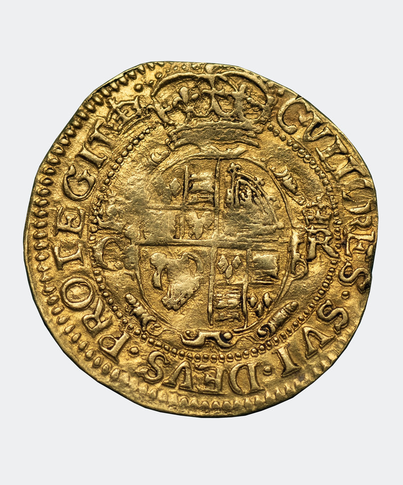 1635-6 Charles I mm Crown Gold CROWN