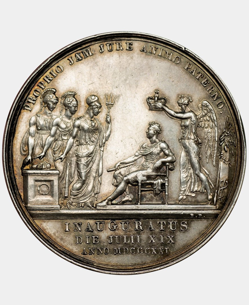 1821 George IV coronation Medal in Silver