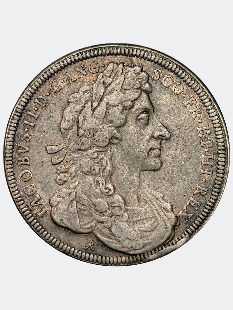 1685 James II Coronation medal in silver - Mhcoins