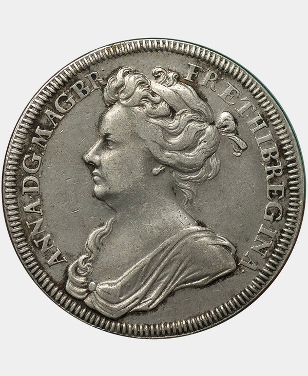 1702 Queen Anne Coronation Medal in Silver