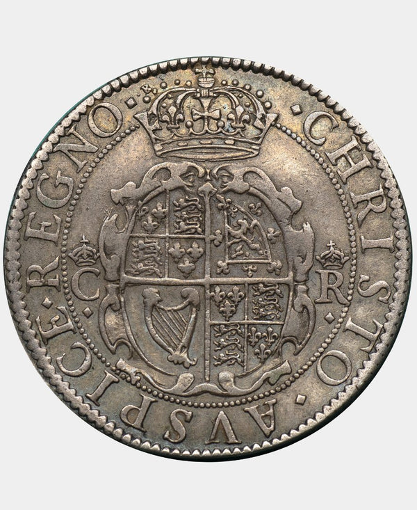 1631-2 Charles I Nicholas Briot First Milled Issue Halfcrown - Mhcoins