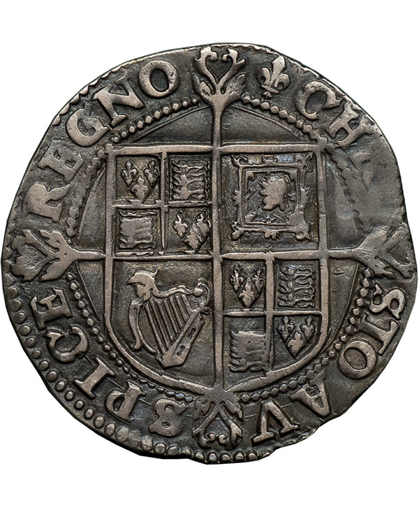 1625 Charles I Tower Mint mm Lis. Shilling